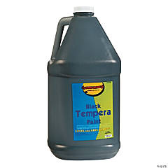 Gallon Tempera Paint - Black
