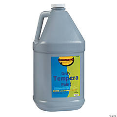 Gallon Tempera Paint - Gray