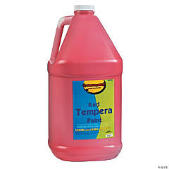 Gallon Tempera Paint - Red