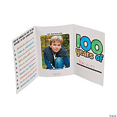 Color Your Own 100 Years Picture Frame Booklets