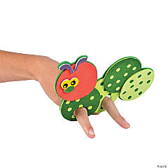 Caterpillar Finger Puppet Craft Kit