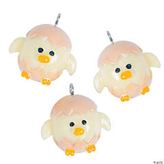 Cute Chick Polymer Charms - 21mm - 24mm