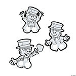 Color Your Own Leprechaun Finger Puppets