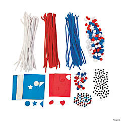 Red, White & Blue Craft Assortment