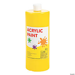 Yellow Acrylic Paint