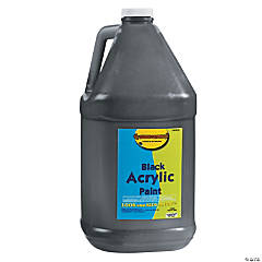 Gallon Acrylic Paints - Black