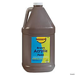 Gallon Acrylic Paint - Brown