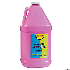Gallon Acrylic Paints - Magenta