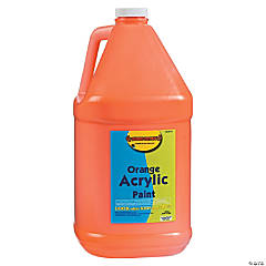 Gallon Acrylic Paint - Orange