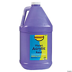 Gallon Acrylic Paint - Violet