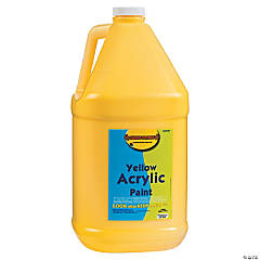 Gallon Acrylic Paints - Yellow