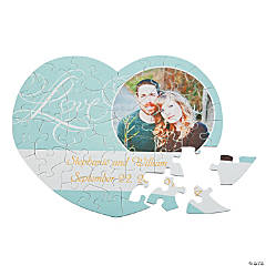 Personalized Photo Love Wedding Puzzle