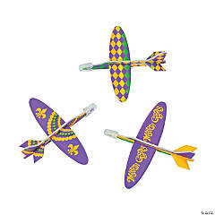 Mardi Gras Mini Gliders