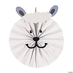 Sheep Hanging Fan Craft Kit