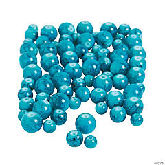 Turquoise Round Beads - 6mm - 10mm
