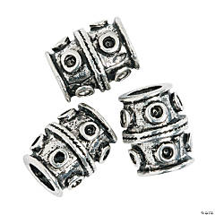 Barrel Large Hole Beads - 14mm