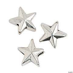 Star Large Hole Beads - 12mm