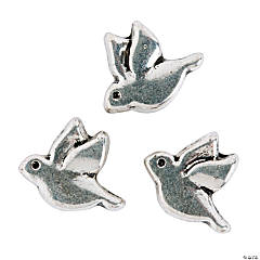 Dove Large Hole Beads - 11mm