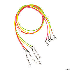 Neon Necklaces with Lobster Clasp