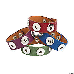 Large Colorful Snap Bracelets