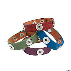 Small Colorful Snap Bracelets