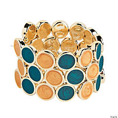 Teal & Tan Bracelet Craft Kit