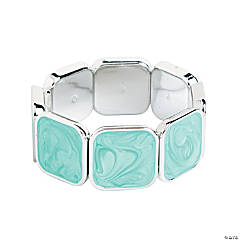 Square Milky Mint Bracelet Craft Kit