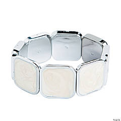 Square Milky White Bracelet Craft Kit