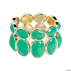 Oval Green Bracelet Craft Kit