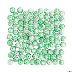 Mint Water Color Beads - 10mm