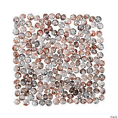 Brown Prism Beads