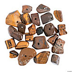 Brown Stone Beads  -  9mm - 24mm