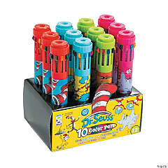 Dr. Seuss™ 10-Color Shuttle Pens