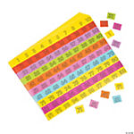 100th Day of School Sticker Sheets