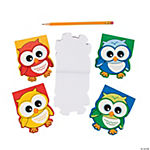 Owl-Shaped Notepads