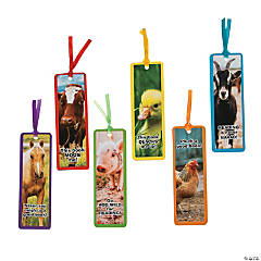Farm Animal Bookmarks