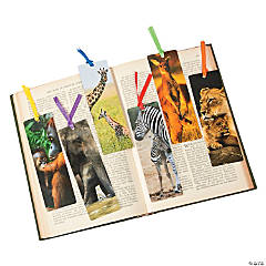 Mommy & Baby Animal Bookmarks