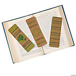 Recycle Kraft Paper Bookmarks