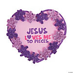 Jesus Loves Me To Pieces Pin Craft Kit
