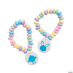 Easter-Printed Candy Bracelets