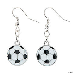 Soccer Earrings Craft Kit