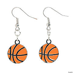 Basketball Earrings Craft Kit