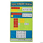 Ten Frame Math Pocket Chart