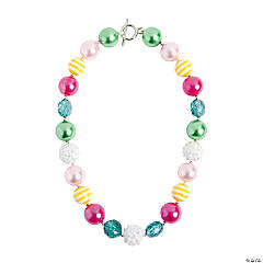 Chunky Easter Necklace Craft Kit