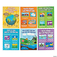 Pollution Poster Set