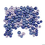 Purple Pearl Beads 6mm - 8mm
