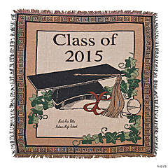 2015 Grad Throw Blanket