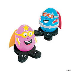 Superhero Egg Decorating Craft Kit