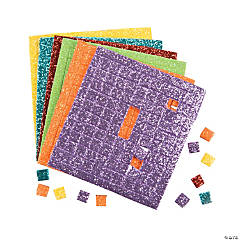 Adhesive Glitter Squares