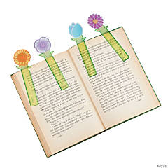 Flower Ruler Bookmarks